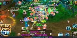 Trải nghiệm Fantasy GO ngày ra mắt: Đông vui và náo nhiệt