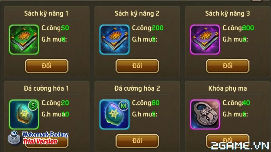 Fantasy GO - Tìm hiểu Shop hoạt động 1