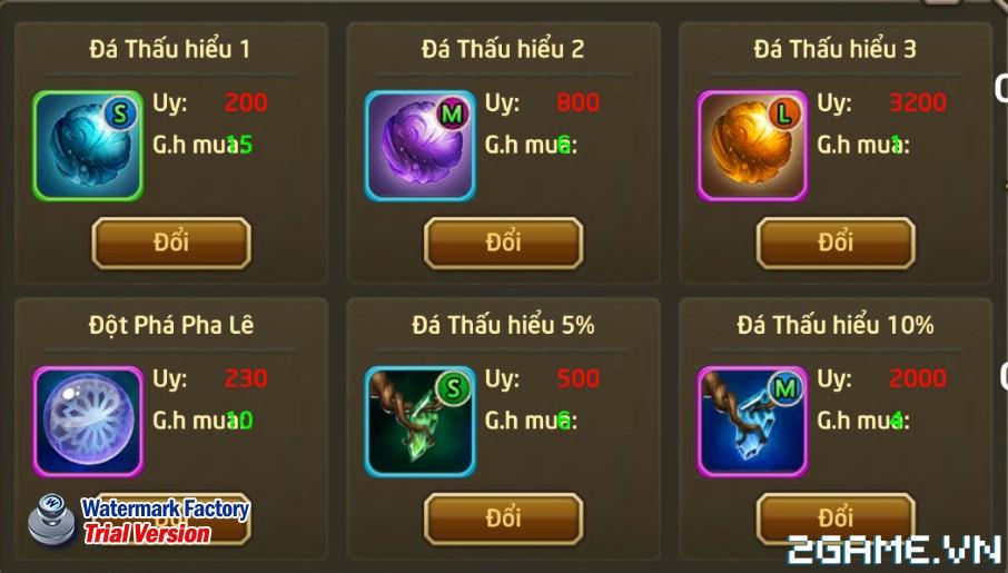 Fantasy GO - Tìm hiểu Shop hoạt động 2