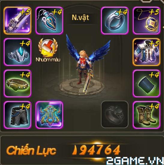 Fantasy GO - Tìm hiểu Trang bị nhân vật trong game 0