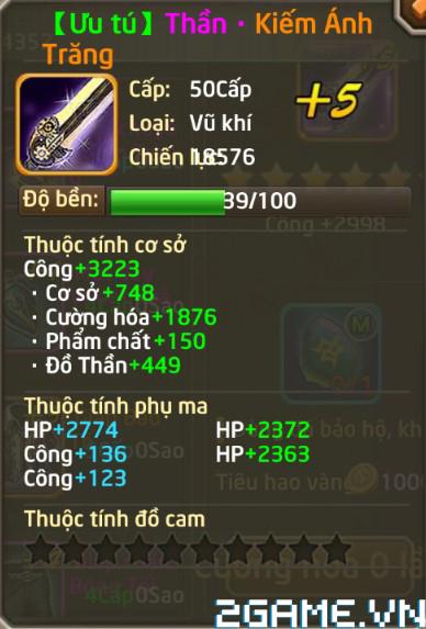Fantasy GO - Tìm hiểu Trang bị nhân vật trong game 1