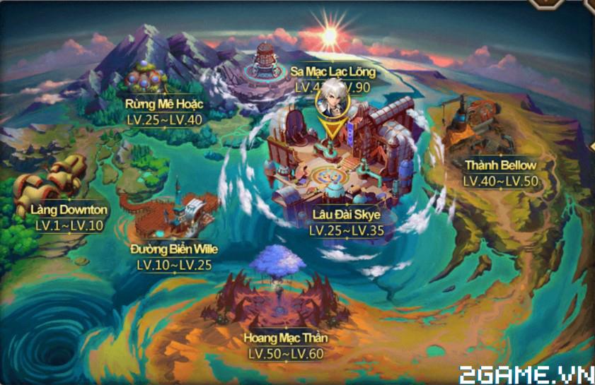 Fantasy GO – Tìm hiểu Sa Mạc Lạc Lõng