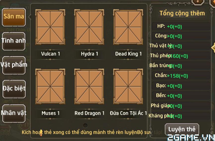 Fantasy GO - Tìm hiểu Hệ Thống Thẻ 1