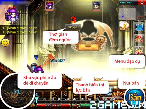 Gunny Mobi – Tìm hiểu Giao diện trò chơi