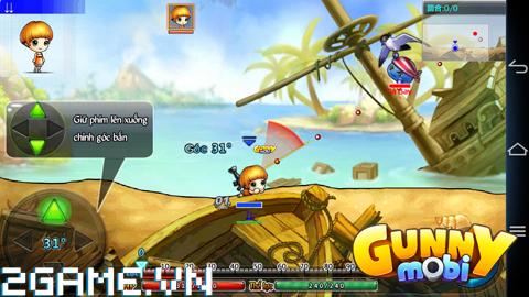 Gunny Mobi - Tìm hiểu Thao tác điều khiển 1