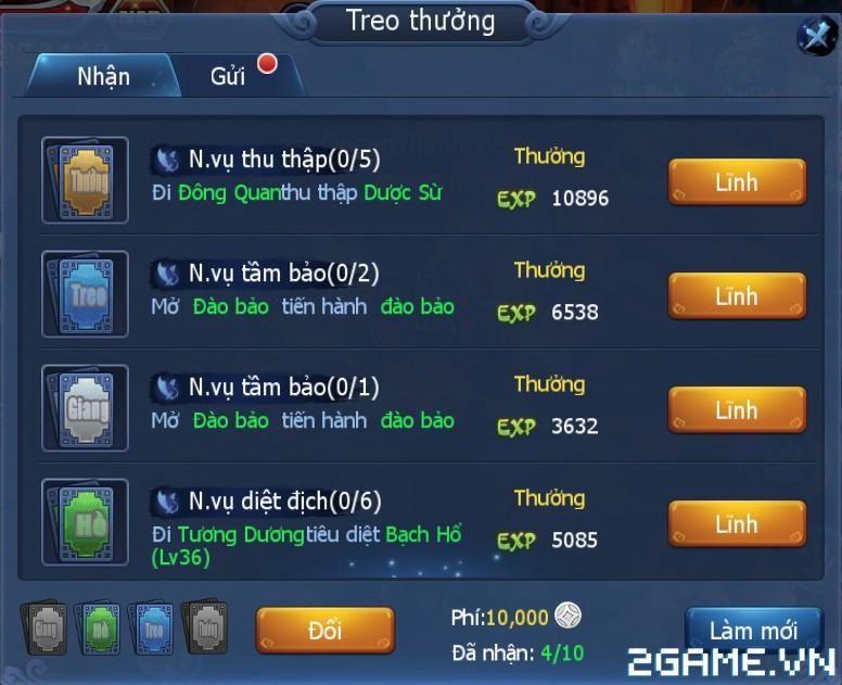 Thần Điêu Hiệp Lữ Soha - Tìm hiểu Hoạt động Giang Hồ Treo Thưởng 0