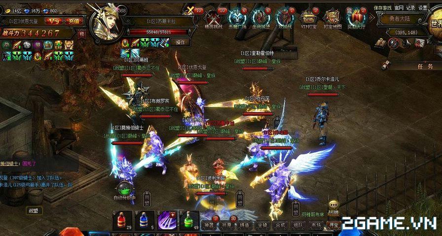 MU Đại Thiên Sứ đang là top game RPG 2D hàng đầu tại Trung Quốc 9