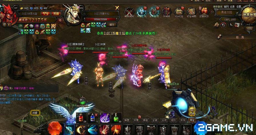 MU Đại Thiên Sứ - Game chuẩn MU Online đã về Việt Nam 3