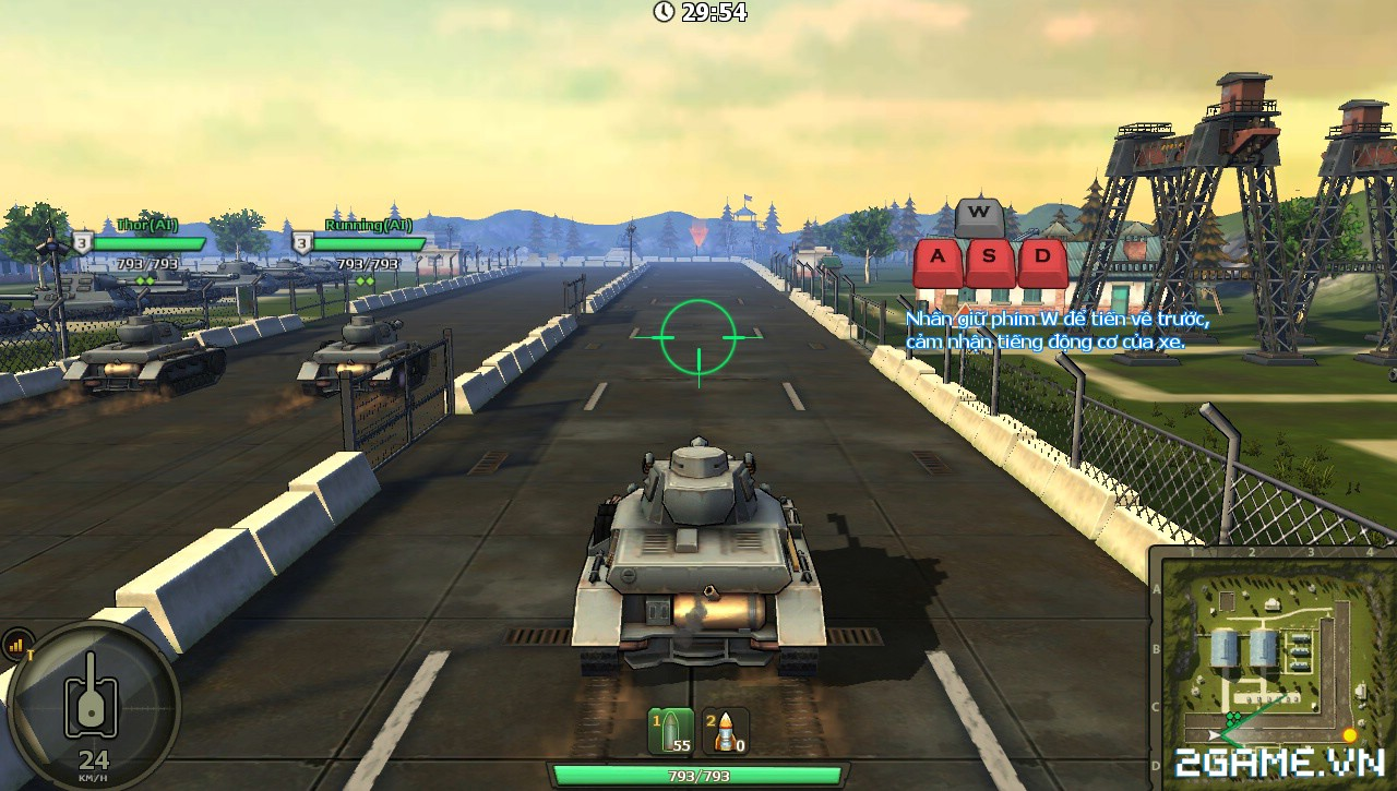 Phê cùng những trải nghiệm chiến đấu với Mad Tanks trong ngày đầu ra mắt 0