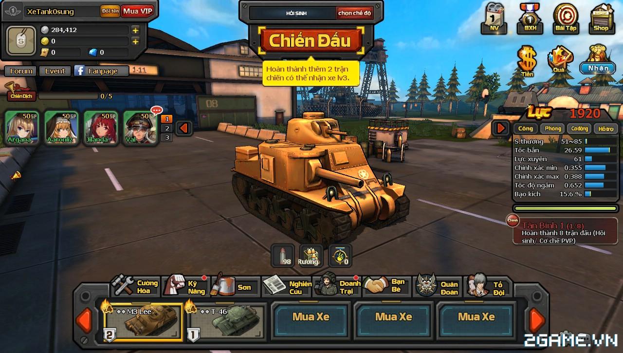 Phê cùng những trải nghiệm chiến đấu với Mad Tanks trong ngày đầu ra mắt 10