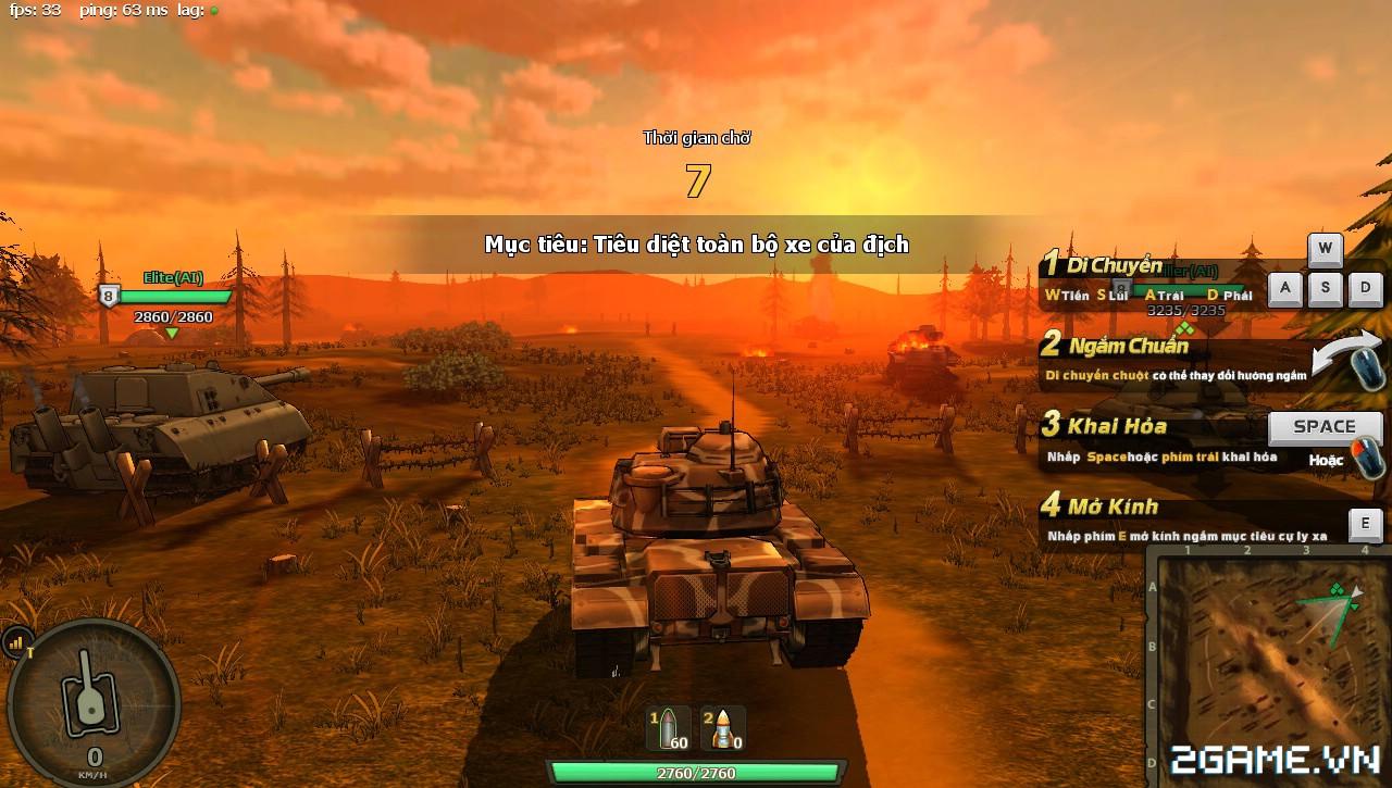 Phê cùng những trải nghiệm chiến đấu với Mad Tanks trong ngày đầu ra mắt 2