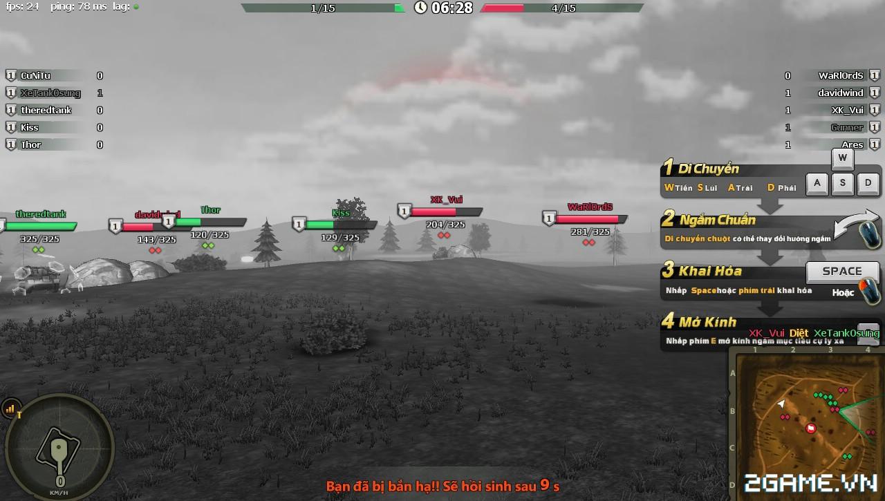 Phê cùng những trải nghiệm chiến đấu với Mad Tanks trong ngày đầu ra mắt 5