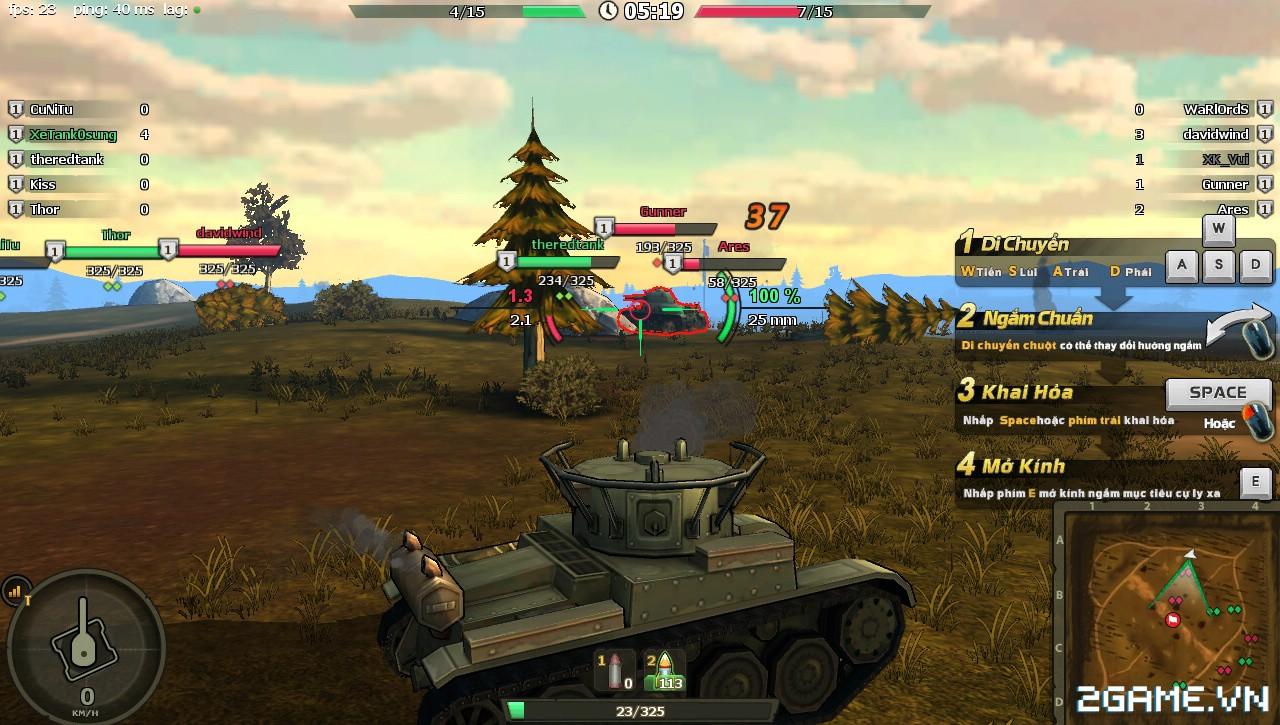 Phê cùng những trải nghiệm chiến đấu với Mad Tanks trong ngày đầu ra mắt 6