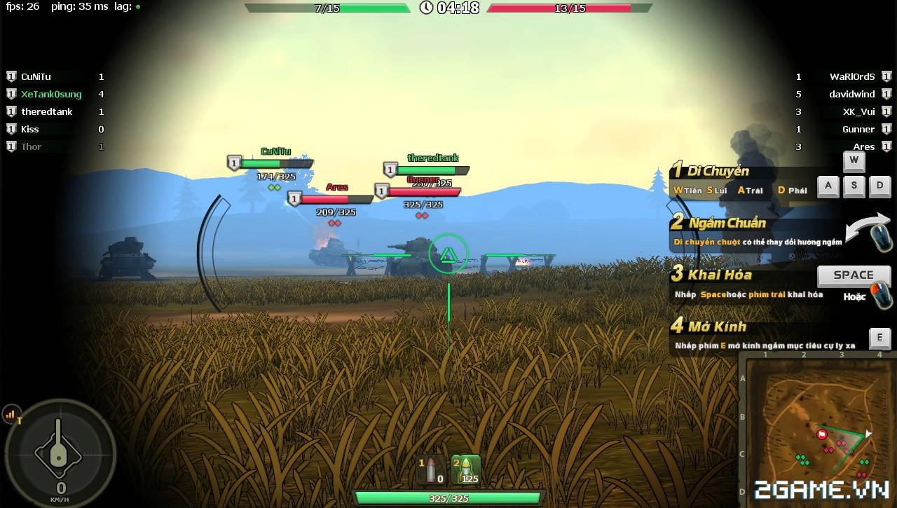 Phê cùng những trải nghiệm chiến đấu với Mad Tanks trong ngày đầu ra mắt 8