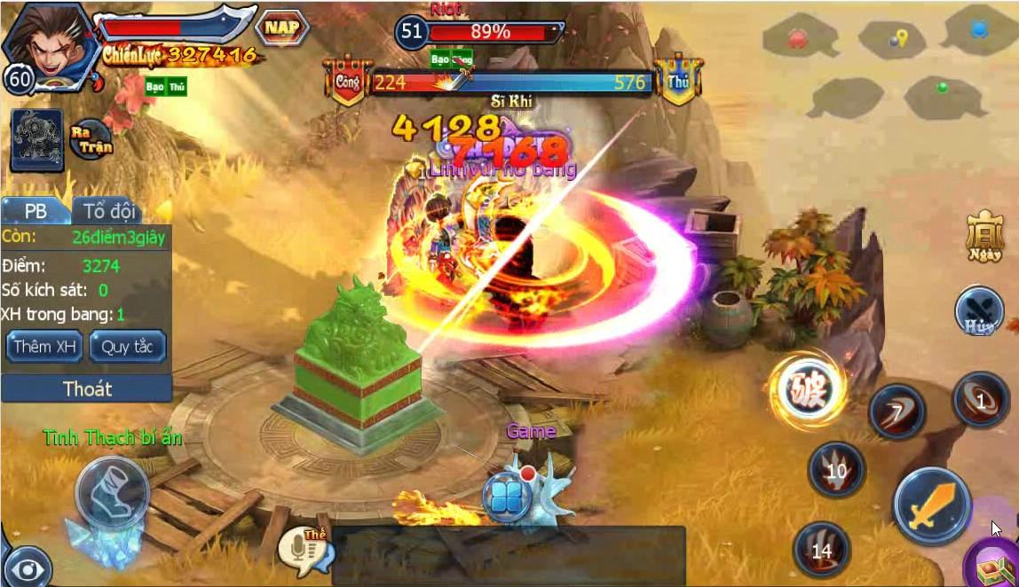 Thần Điêu Hiệp Lữ Soha – Tìm hiểu Hoạt động Đoạt Ngọc Tỉ