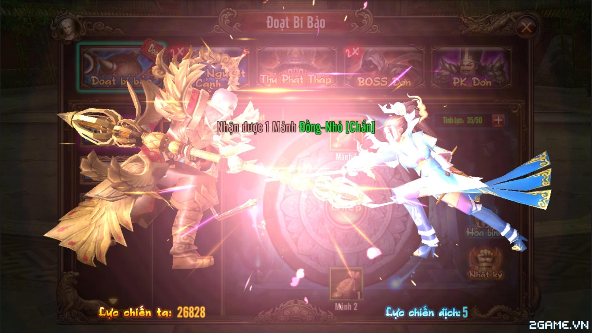 Kungfu Chi Vương – Tìm hiểu Đoạt Bí Bảo