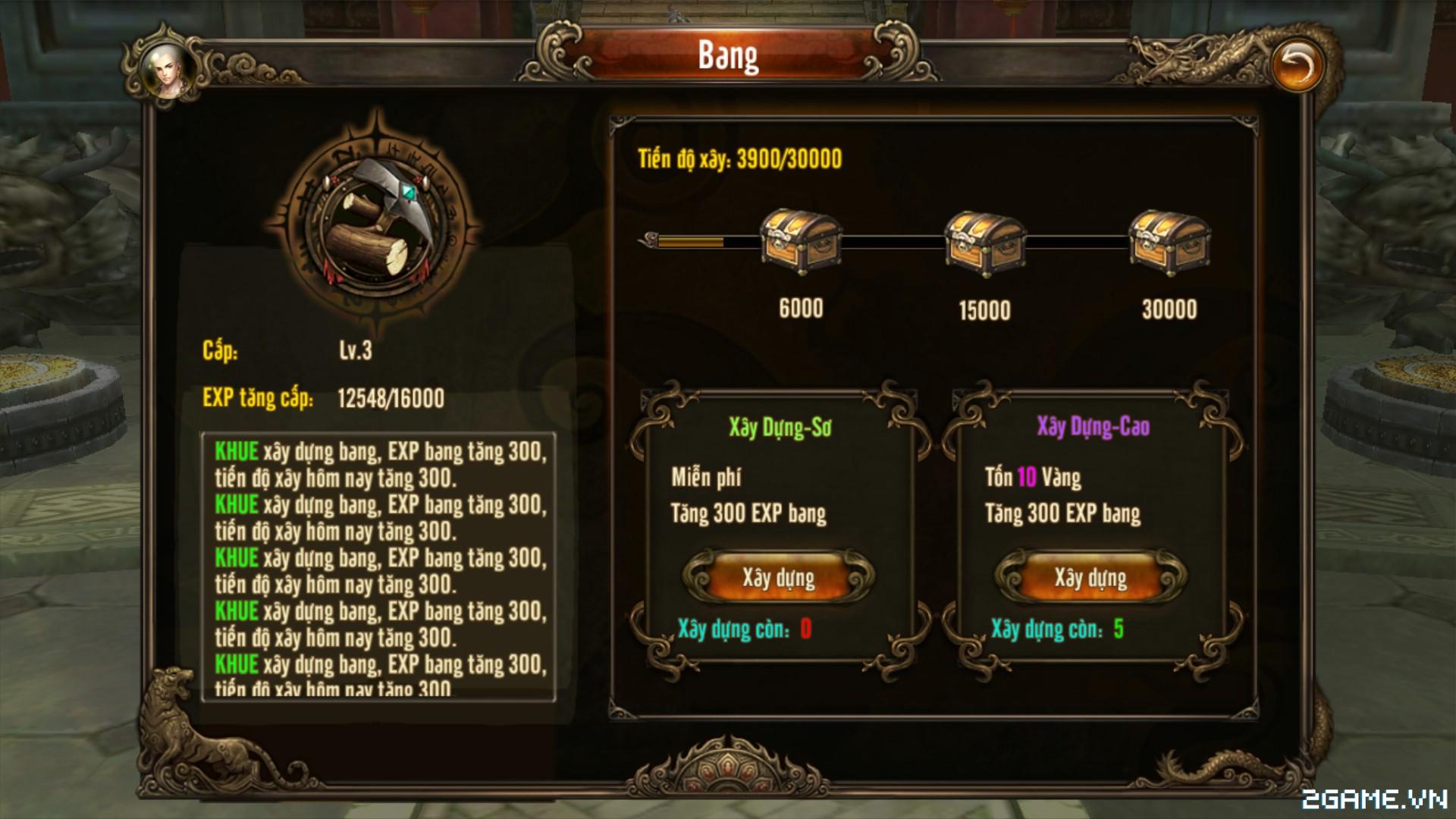 Kungfu Chi Vương - Tìm hiểu Kỹ năng tăng cấp bang 1