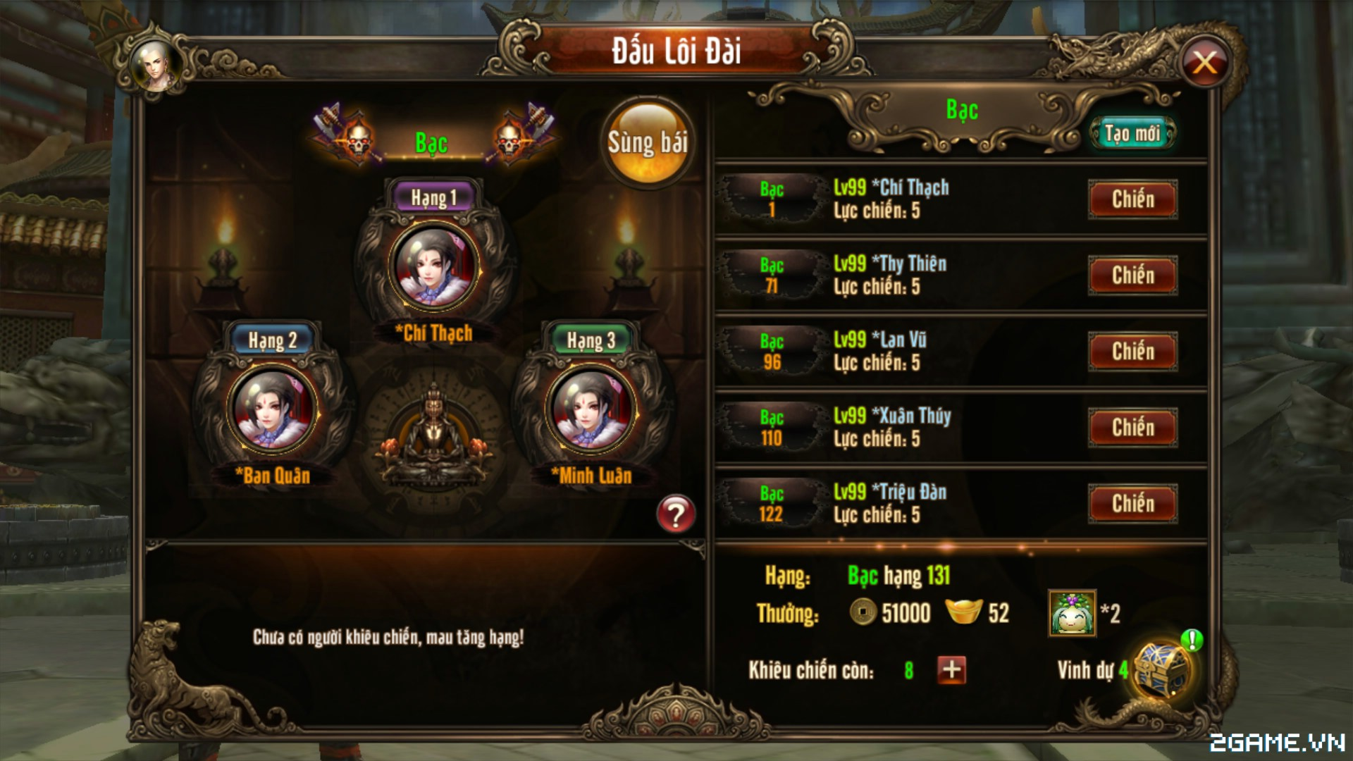 Kungfu Chi Vương – Mẹo tăng cấp nhanh trong game