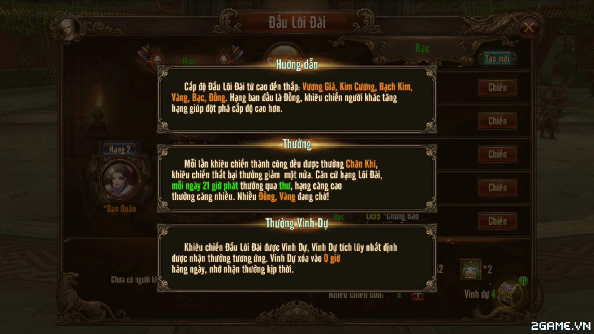 Kungfu Chi Vương - Mẹo tăng cấp nhanh trong game 4