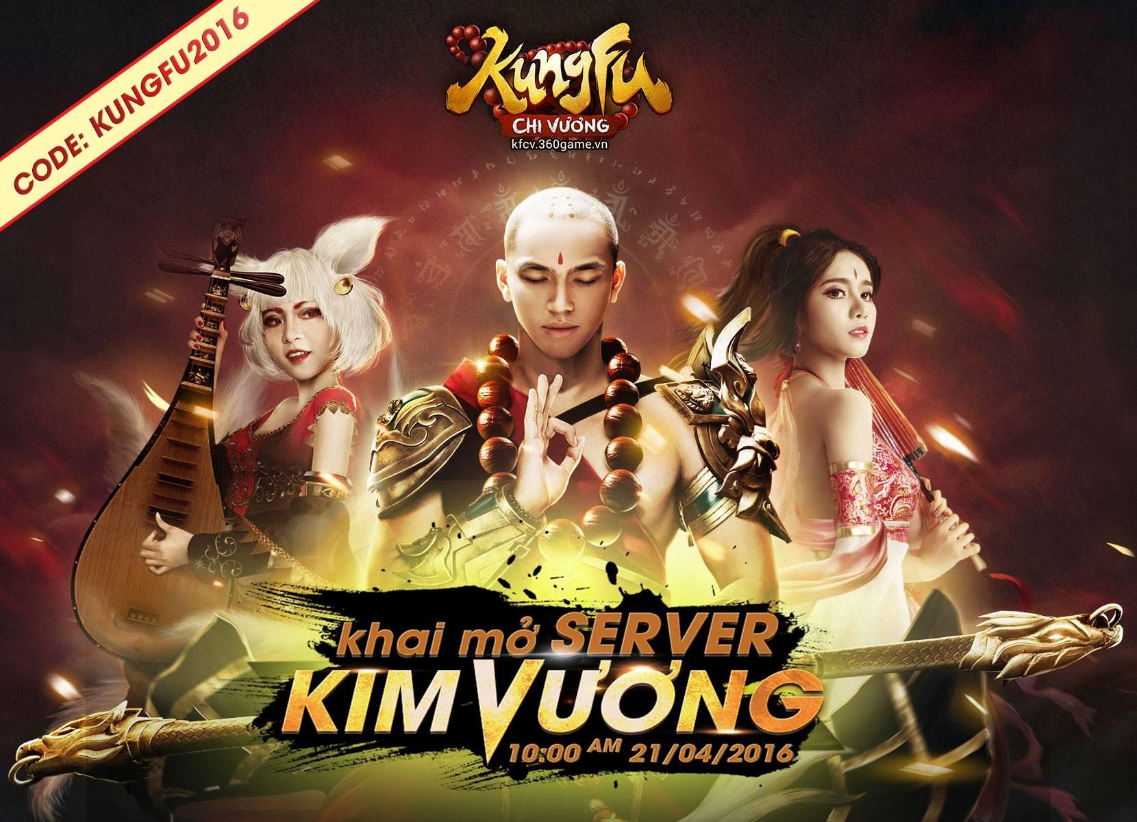 Tặng 210 giftcode game Kungfu Chi Vương 0