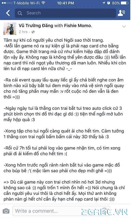 Ngôi Sao Thời Trang - Con gái chơi game nên tìm Soái Ca