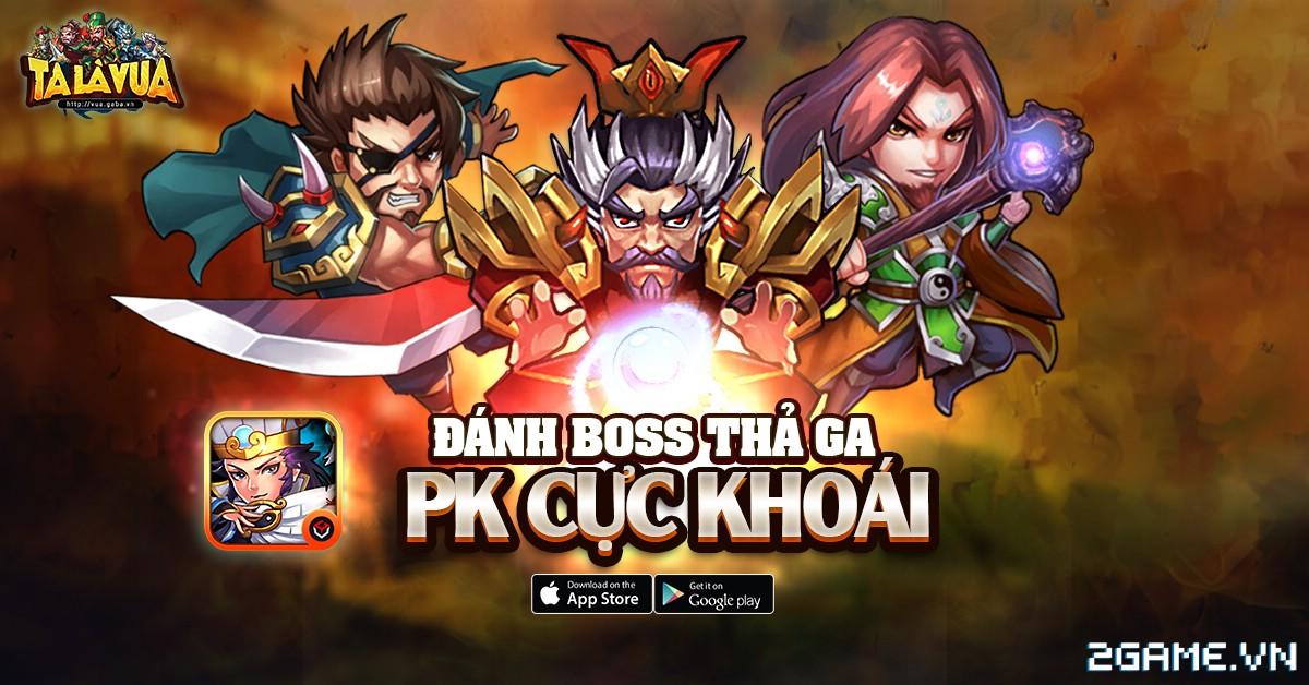 Tặng 305 giftcode game Ta Là Vua 1