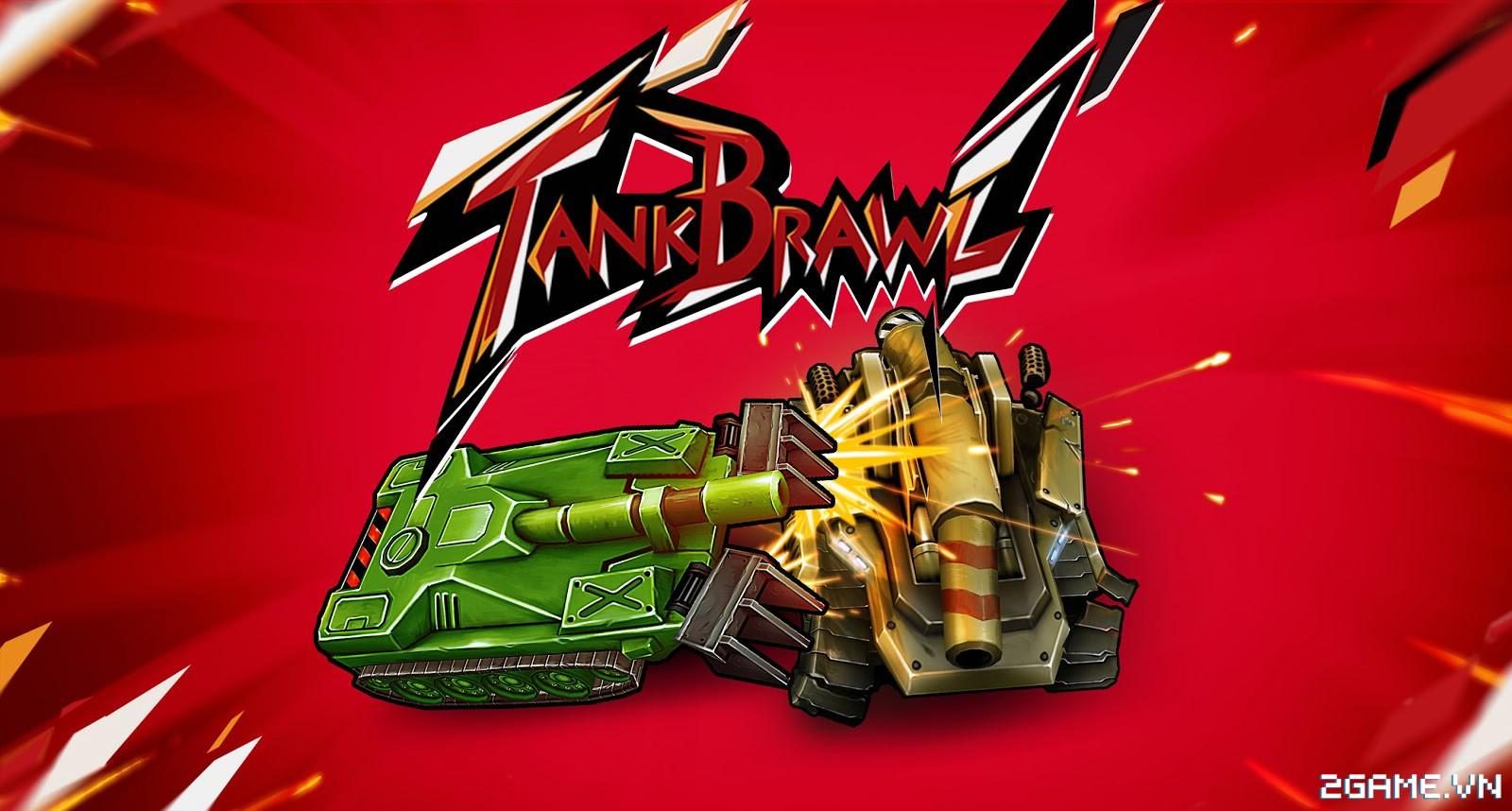 Tank Brawl - Truyền nhân xứng đáng của game Tank 4 nút điện tử băng kinh điển 0