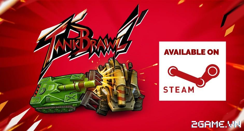 Tank Brawl - Truyền nhân xứng đáng của game Tank 4 nút điện tử băng kinh điển 9