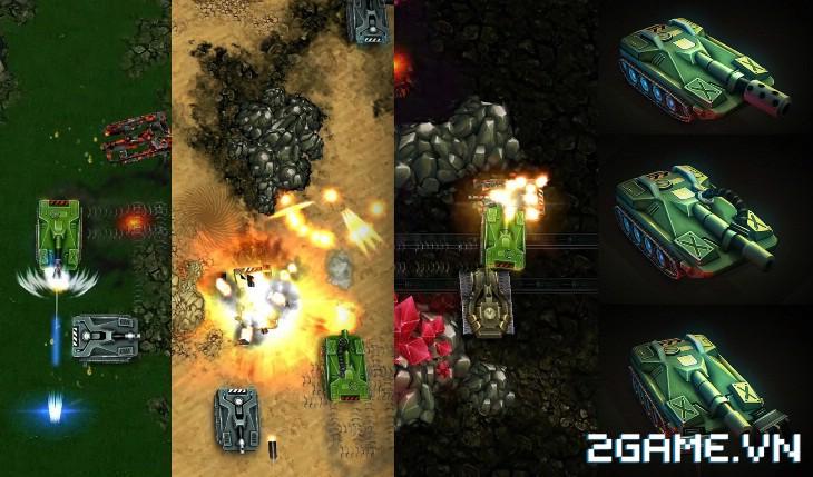 Tank Brawl - Truyền nhân xứng đáng của game Tank 4 nút điện tử băng kinh điển 2