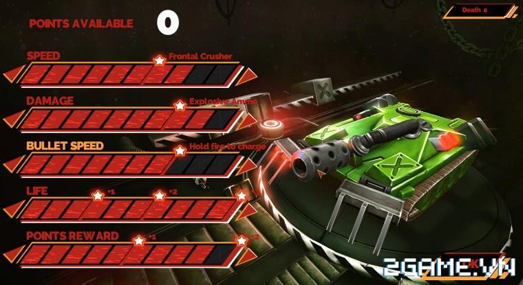 Tank Brawl - Truyền nhân xứng đáng của game Tank 4 nút điện tử băng kinh điển 3