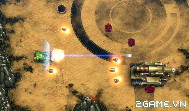 Tank Brawl - Truyền nhân xứng đáng của game Tank 4 nút điện tử băng kinh điển 4