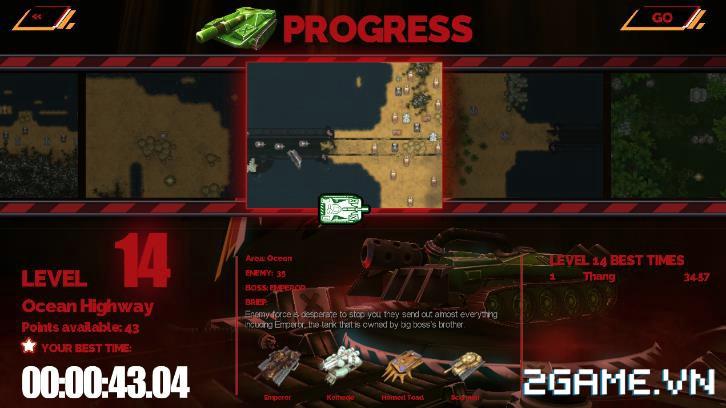 Tank Brawl - Truyền nhân xứng đáng của game Tank 4 nút điện tử băng kinh điển 5