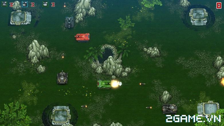 Tank Brawl - Truyền nhân xứng đáng của game Tank 4 nút điện tử băng kinh điển 7