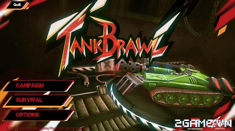 Tank Brawl - Truyền nhân xứng đáng của game Tank 4 nút điện tử băng kinh điển 8