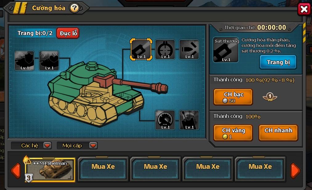 Mad Tanks - Các bí kíp nâng cao lực chiến 1