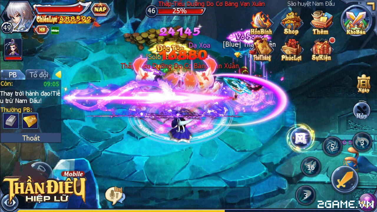 Tặng 205 giftcode game Thần Điêu Hiệp Lữ 4