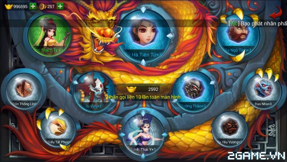 Chân Long mobile – Giới thiệu các item trong game – Phần 1
