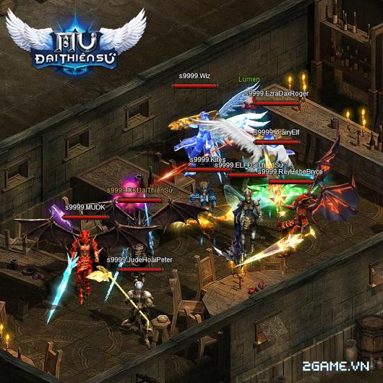 MU Đại Thiên Sứ sẽ được phát hành trên cổng 360 Game và Zing Me 6