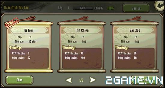 Thiên Long Bát Bộ 3D mobile - Tìm hiểu Hệ thống tửu lầu 3