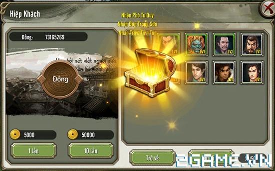 Thiên Long Bát Bộ 3D mobile - Tìm hiểu Hệ thống Hiệp Khách 1