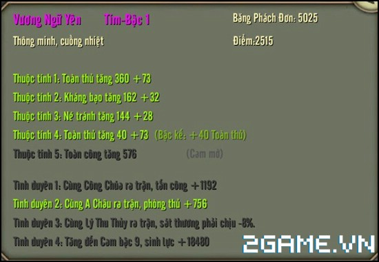 Thiên Long Bát Bộ 3D mobile - Tìm hiểu Hệ thống mỹ nhân 13