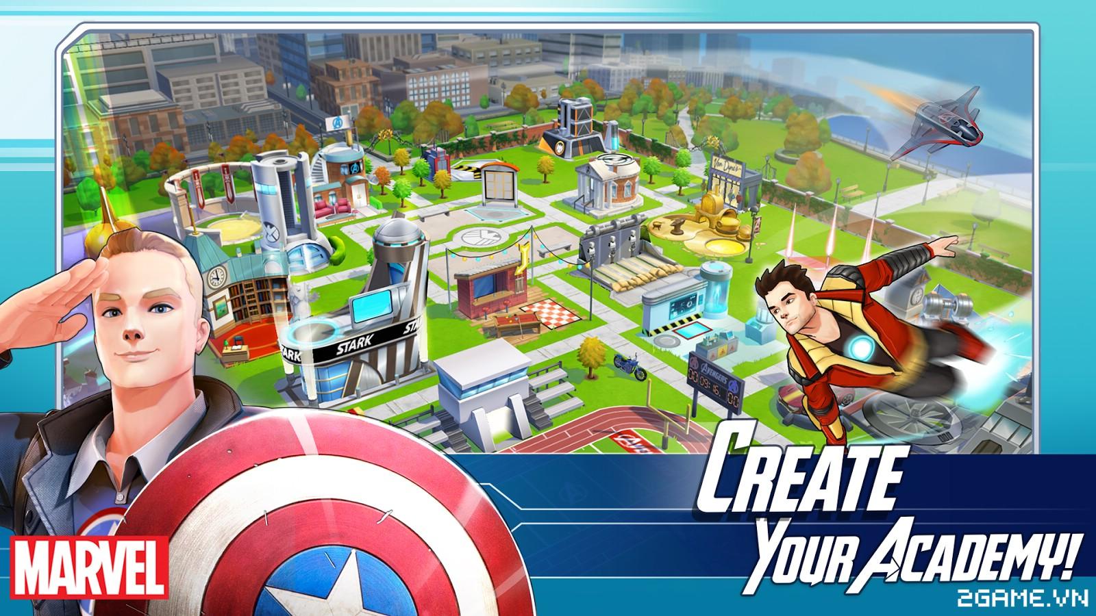 Marvel Avengers Academy - Tiếp xúc với thế giới Marvel hàng ngày hàng giờ 0
