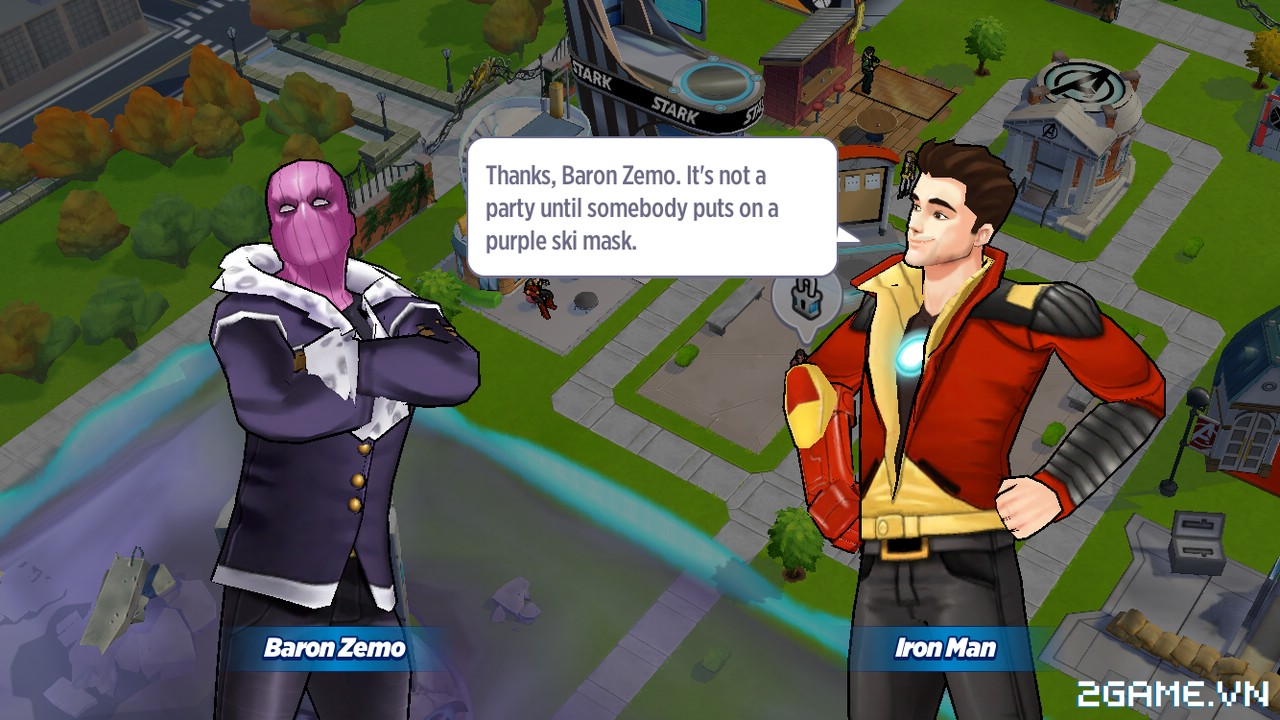 Marvel Avengers Academy - Tiếp xúc với thế giới Marvel hàng ngày hàng giờ 1