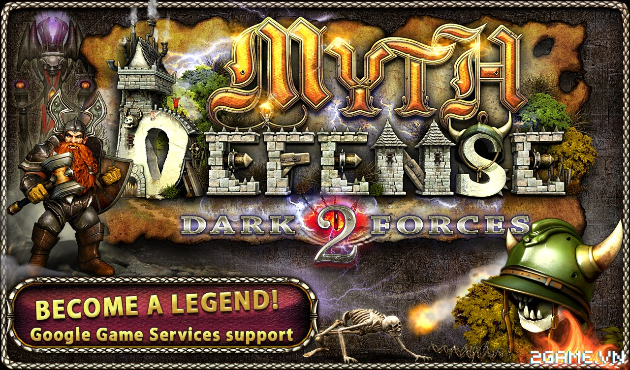 Myth Defense DF - Game thể loại Tower Defense