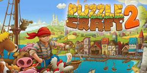 Puzzle Craft 2 – Trải nghiệm hành trình Robinson trên đảo hoang