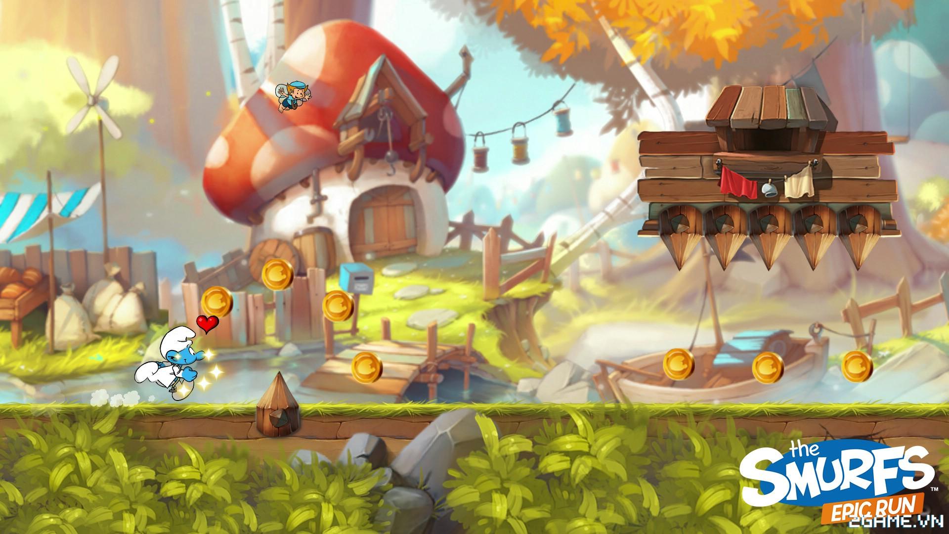 The Smurfs Epic Run - Chạy đua cùng