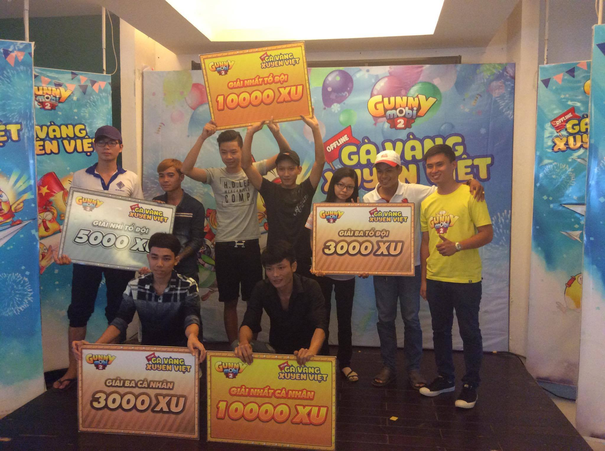 Gunny Mobi - Tranh tài chung kết offline Cần Thơ thu hút hơn 9 nghìn lượt xem trực tuyến 2