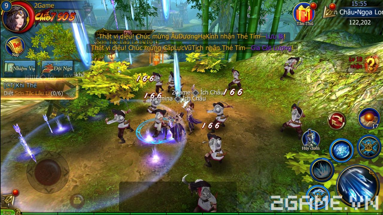Lục Long Tranh Bá 3D tặng giftcode cho game thủ 2Game 2