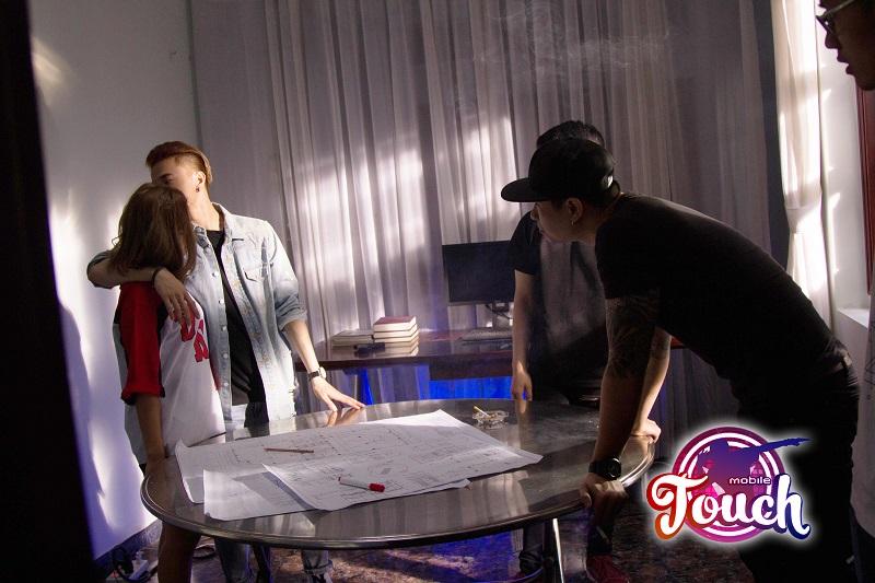 Touch Mobile - Rò rỉ hình ảnh MV mới của Nam Vương Bước Nhảy Hoàn Vũ 2016 hợp tác cùng GAMOTA 9