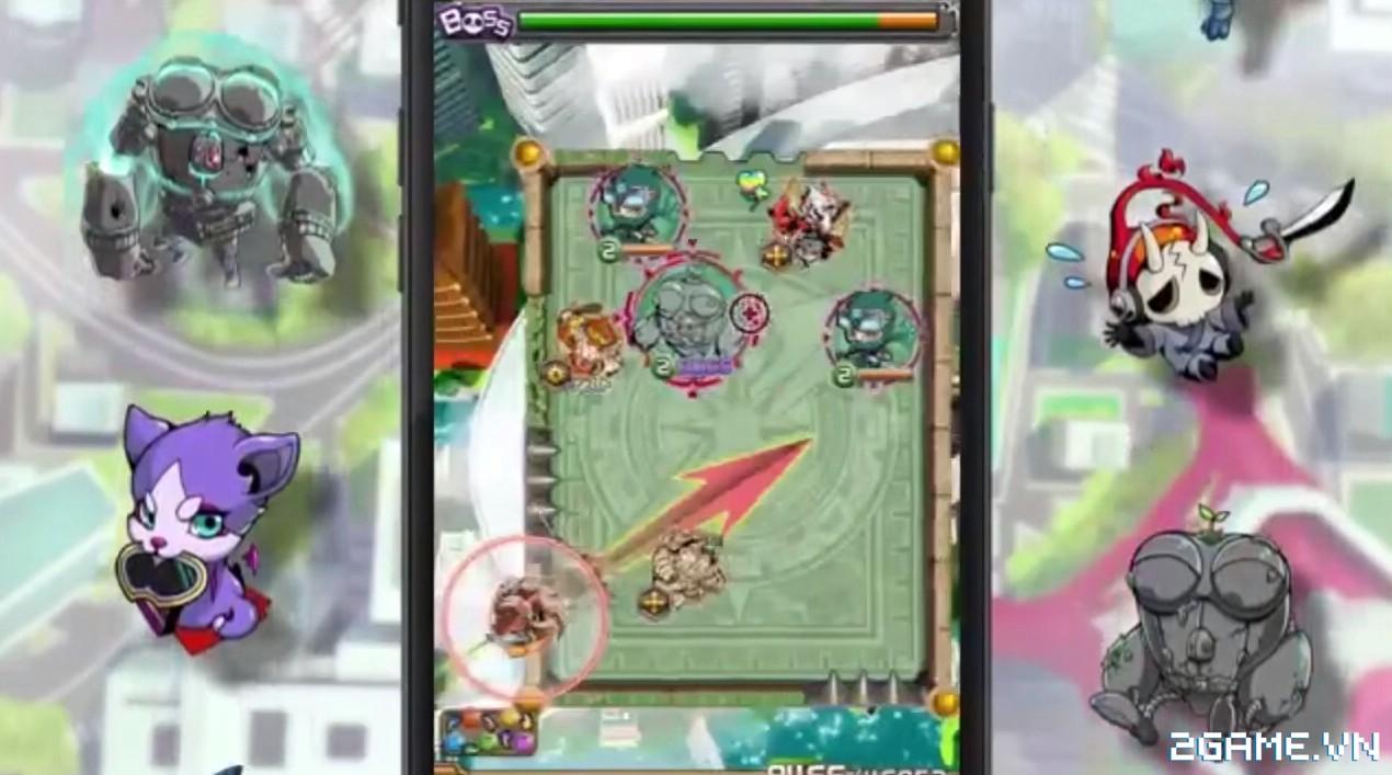 Buster Blitz - Game mobile thẻ bài mới lạ chính thức ra mắt 1